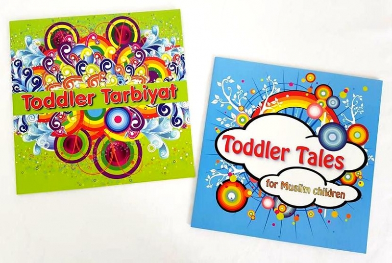 Toddler Tales / Toddler Tarbiyat - 2 Books Set (Children - Kids - Islamic) (PB)