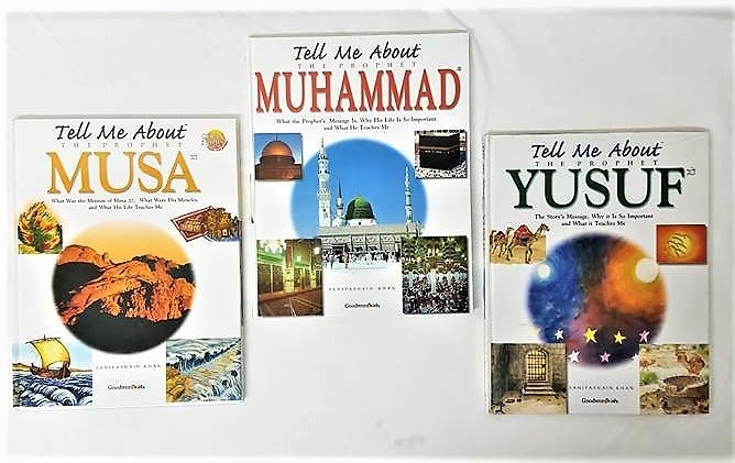 Tell Me About Series: Prophet Muhammad (pbuh)/ Yusuf a.s/ Musa a.s - 3 Books Set