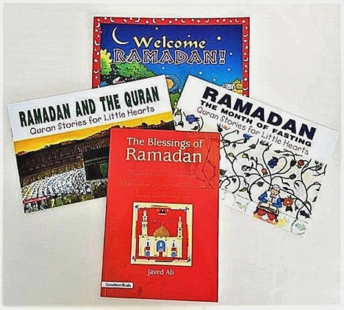 WELCOME RAMADAN: Ramadan Books for Kids - 4 Book Set (Goodword Kids)