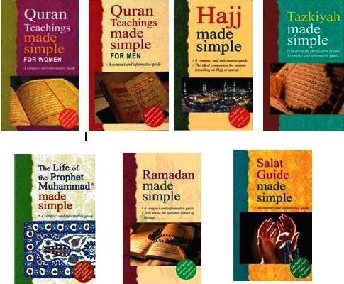 Islam Made Simple Set Of 7 (Handbook,Glossy)