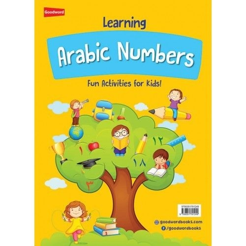 Learning Arabic Numbers: Fun Activities for Kids - (Colour - Paperback)