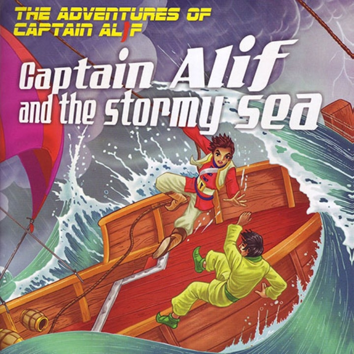 Captain Alif and the Stormy Sea - Gift Pack