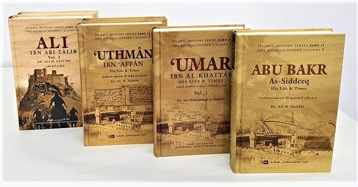 The Four Caliph: Abu Bakr, Umar, Uthman & Ali - 6 Book Set (Hardback)