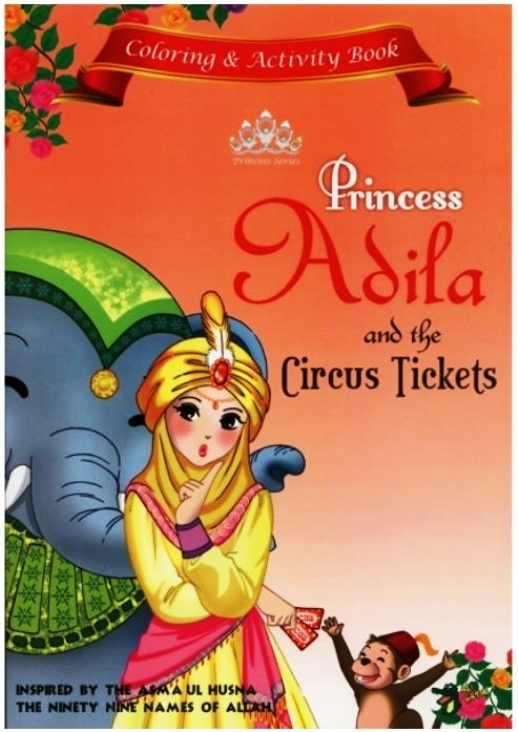 Princess Series Colouring Book  (Set of 4)