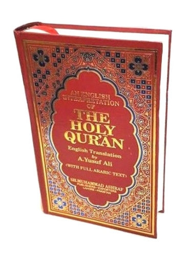 Details about  The Holy Quran Arabic Text with English Translation - A. Yusuf Ali (HB)