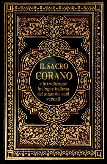Noble Quran in Italian Language IL SACRO CORANO