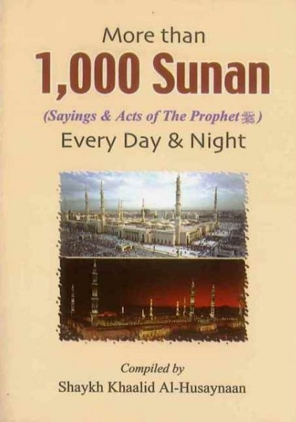 More than 1000 Sunan for Every Day and Night (Pocket Size)