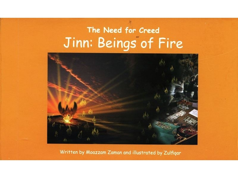 Jinn: Beings of Fire (The Need for Creed Series) (Hardback-Children-Kids)