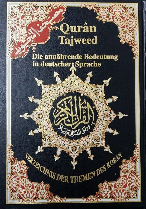 Quran Mushaf Tajweed with Dutch Translation - Colour Coded (HB)
