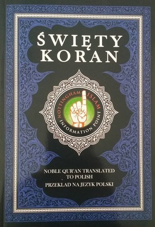 Noble Quran Translated To Polish - Swiety Koran