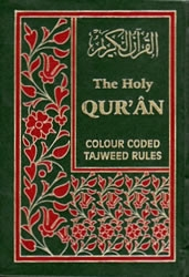 Qur'an Tajweed Colour Coded