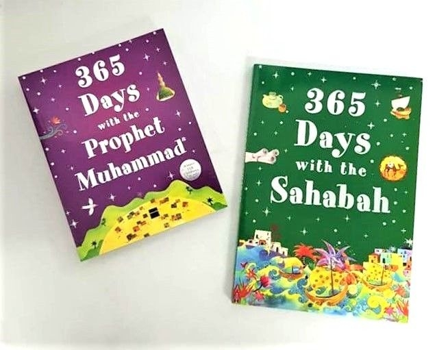 365 Days with the Prophet Muhammad / Sahabah (2 Books - HB)