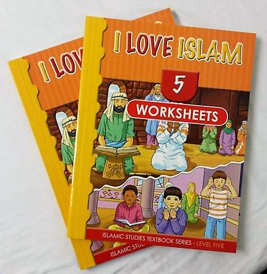 I Love Islam Textbook and Worsheets Book: Level 5 (With CD)