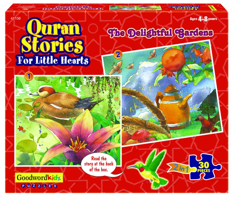 Quran Stories For Little Hearts Puzzle: The Delightful Gardens