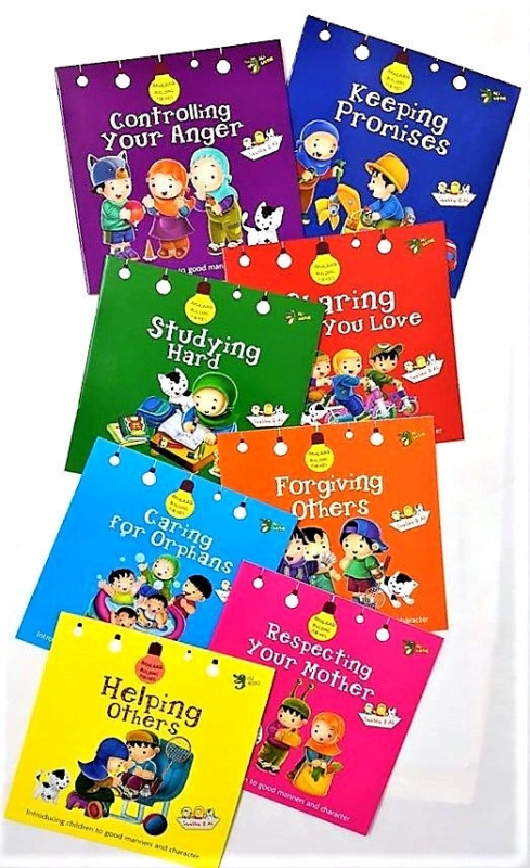Akhlaq (Manners) Building for Kids Series - 8 Books Set (PB)
