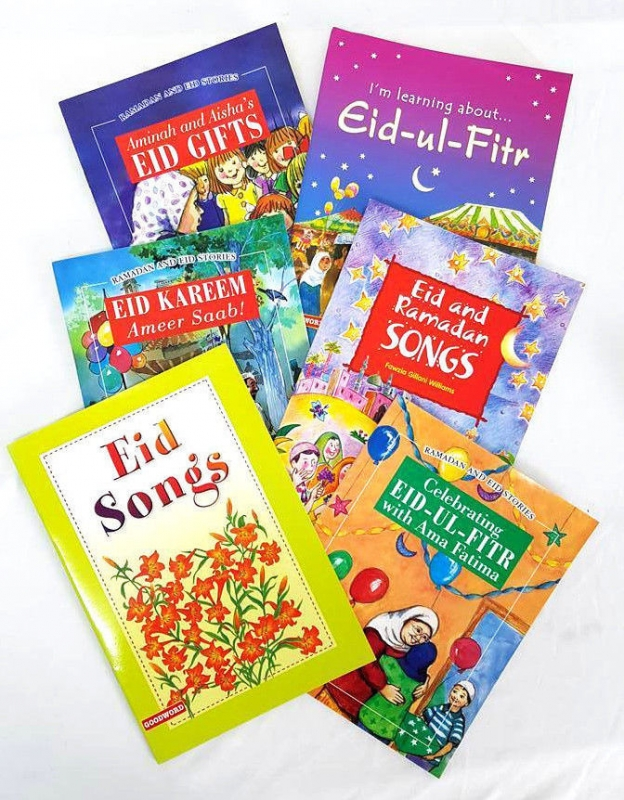 Ramadhan and Eid Stories / Songs - 6 Book Set (PB)