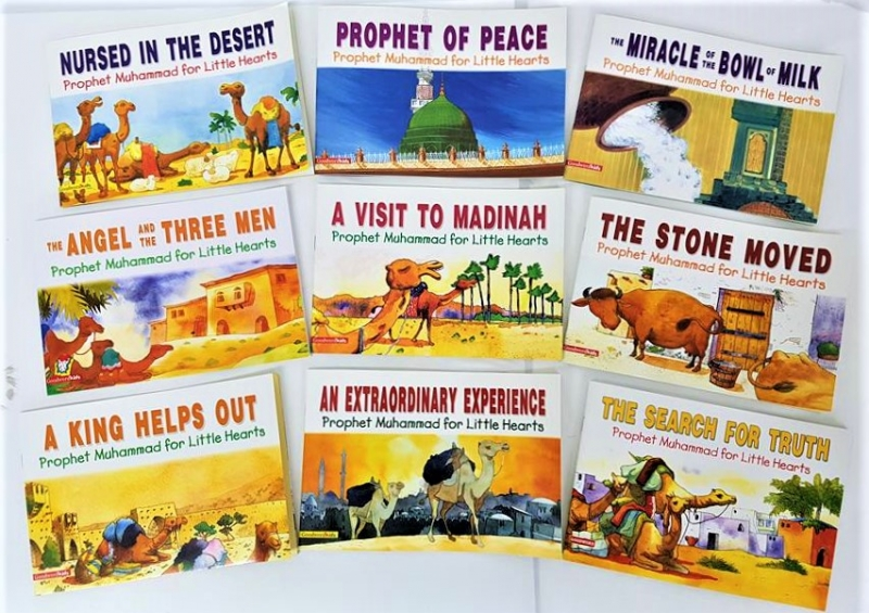 Prophet Muhammad (Peace be on him) for Little Hearts - 9 Book Set
