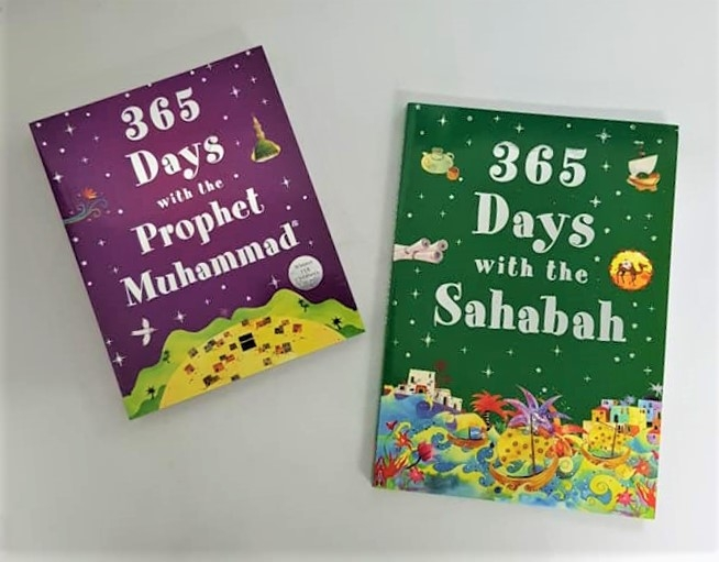 365 Days with the Prophet Muhammad & 365 Days with the Sahabah (2 Books - PB)