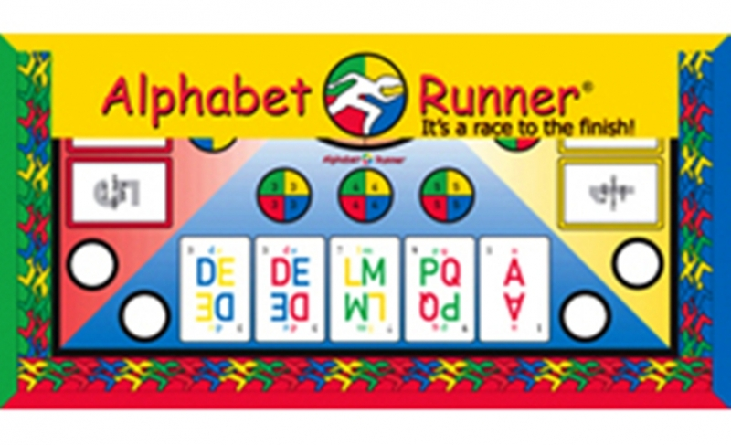 Alphabet Runner Board Game It's a race to the finish!