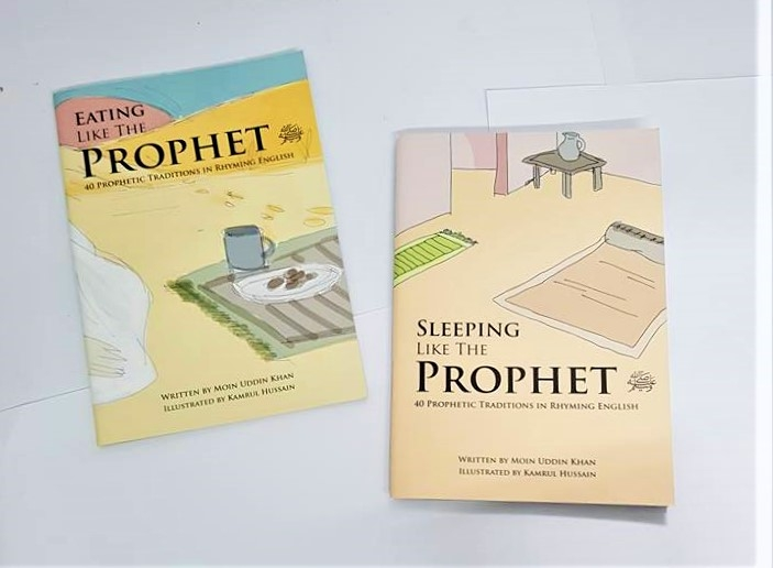 Eating Like the Prophet / Sleeping Like the Prophet (PBUH)- 2 Books (Paperback)