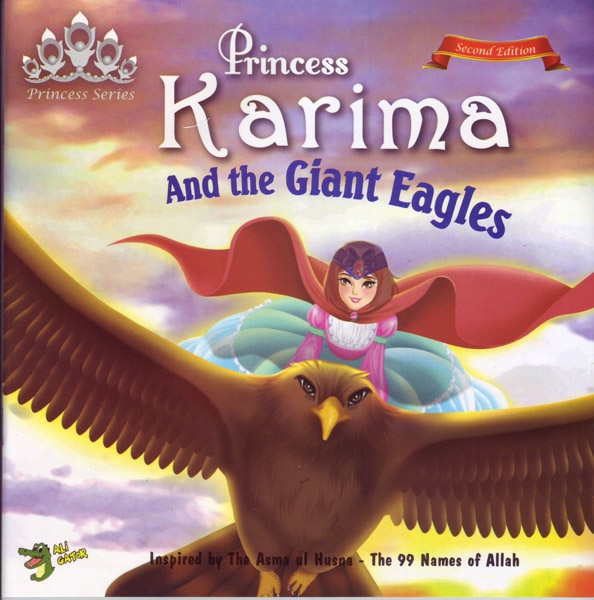 Princess Series: Princess Karima and the Giant Eagles
