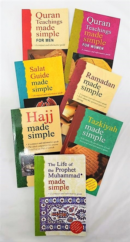 Made Simple Series (Compact and Informative Guides) - 8 Book Set (Islam)