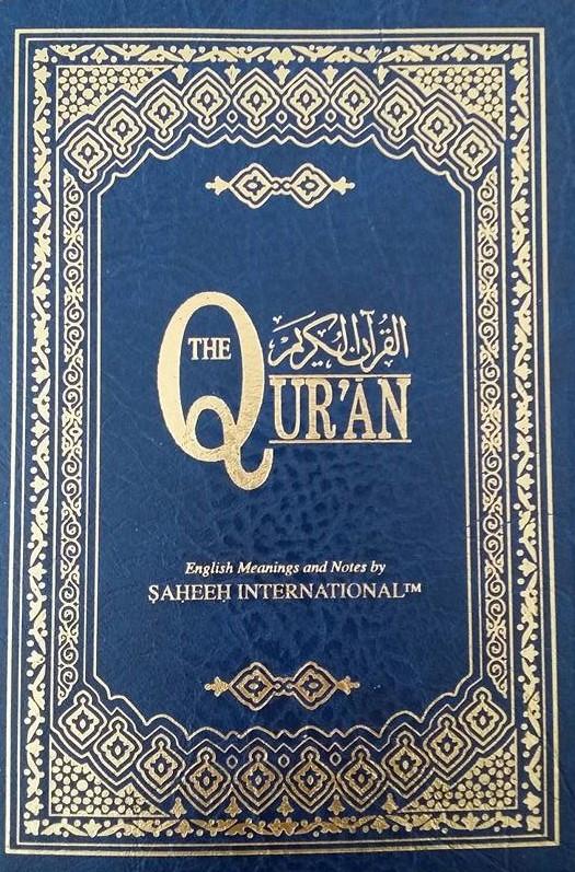 The Quran With English Translation - Saheeh International