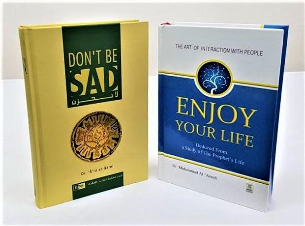 Enjoy Your Life (Colour) / Dont Be Sad - 2 Books (Hardback)