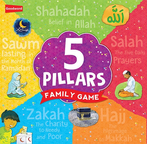 Details about  5 Pillars Family Game (Five Pillars) (Islamic - kids - Board game)