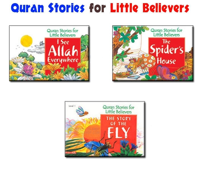 Quran Stories for Little Believers - 3 Book Set (Goodword Islamic Children Kids)